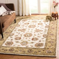 Safavieh Hand-Hooked Total Performance Traditional Ivory / Beige Rug - 2' X 3'