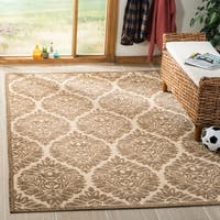 "Safavieh Linden Modern & Contemporary Cream / Beige Rug - 5'1"" x 7'6"""