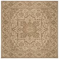 "Safavieh Linden Modern & Contemporary Cream / Beige Rug - 6'7"" x 6'7"" square"