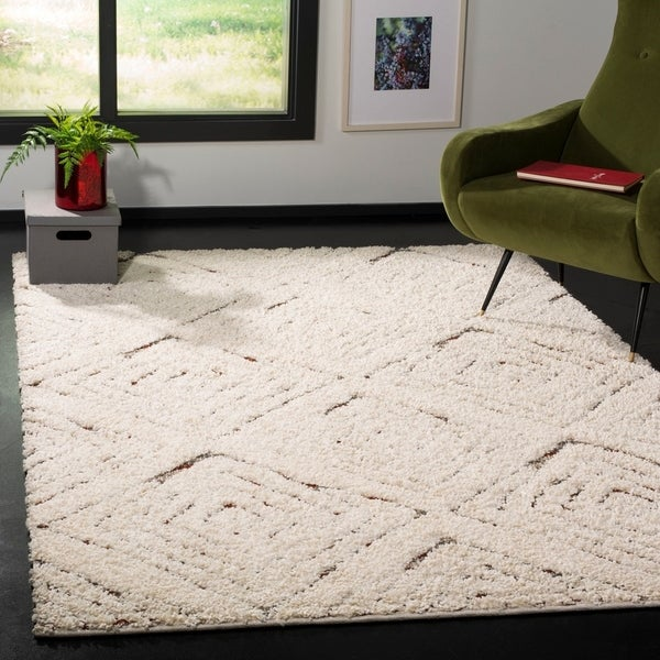 Safavieh Santorini Shag Narin Abstract Microfiber Rug