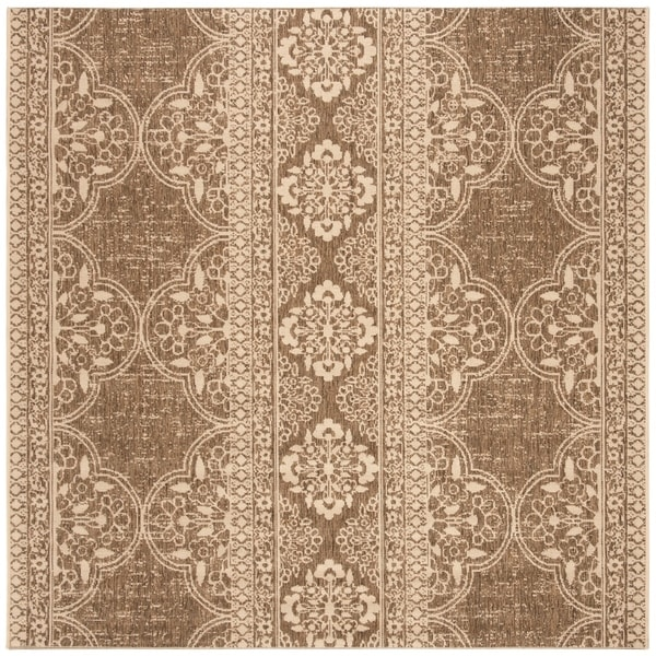 Safavieh Linden Modern & Contemporary Cream / Beige Rug - 6' Square