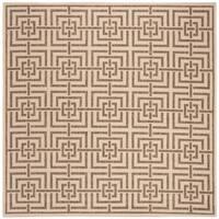 Safavieh Linden Modern & Contemporary Cream / Beige Rug - 6' Square