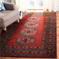 Safavieh Hand-Tufted Heritage Traditional Red Wool Runner Rug - 2'3' x 8'