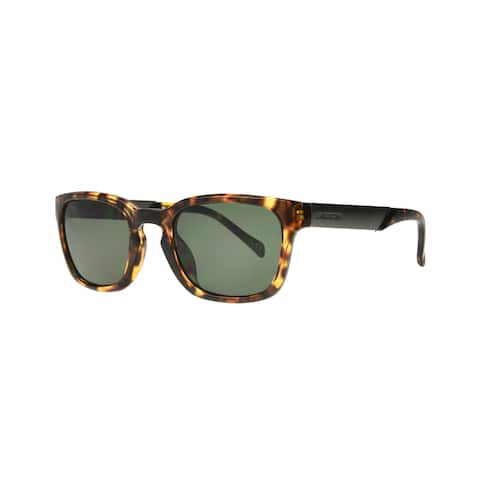 Anarchy Remy Brown Demi Frame with Polarized Lens Sunglasses - Medium