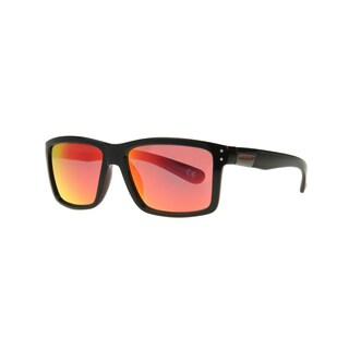 Anarchy Ari Men's Black with Mirrored Lens Sunglasses - Medium
