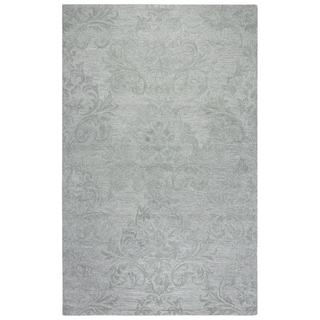 Rizzy Home Fifth Avenue Grey Damask 9' X 12' Rug - 9' x 12'