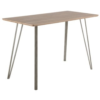 Sedona Industrial Counter Height Dining Table in Wood and Metal