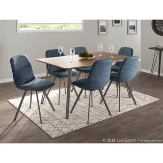 Sedona Industrial Dining Table in Wood and Metal