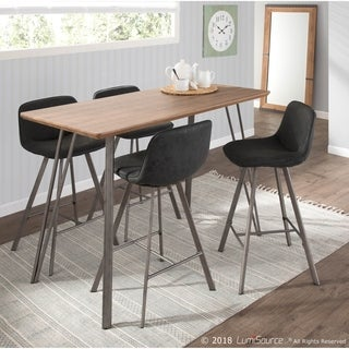 Sedona 5-Piece Industrial Counter Height Dining Set