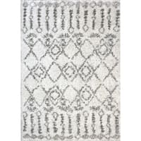 Dynamic Rugs Nordic Aztec Ivory Area Rug - 7'5 x 10'6
