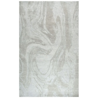 Rizzy Home Fifth Avenue Grey Abstract 10' X 13' Rug - 10' x 13'
