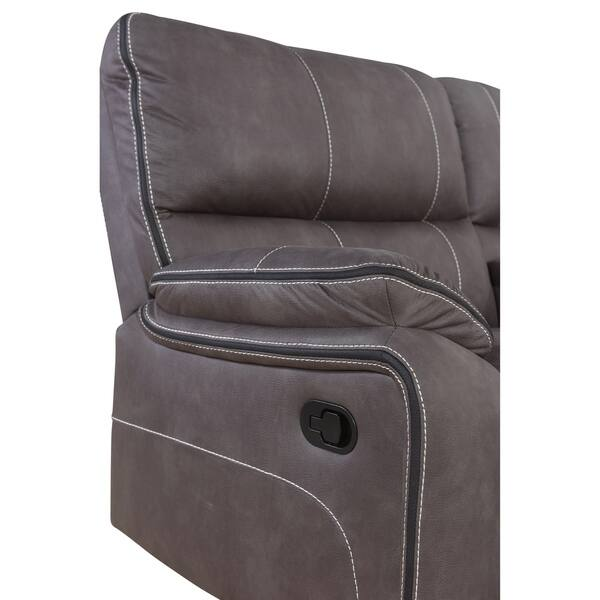 Superb Shop Abbyson Roosevelt Grey Fabric 6 Piece Reclining Forskolin Free Trial Chair Design Images Forskolin Free Trialorg