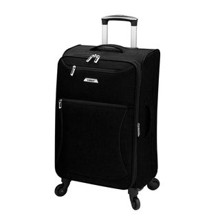 Leisure Vector 21-inch Expandable Spinner Carry On Suitcase