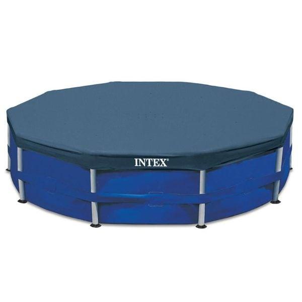 Intex Metal Frame Swimming Pool Cover for 15-Foot Metal Frame Pools