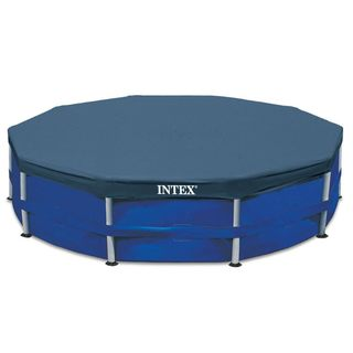 Intex Metal Frame Swimming Pool Cover for 15-Foot Metal Frame Pools