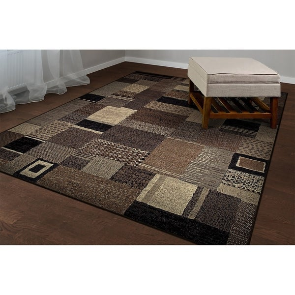 """Provencal Belle Ivory-Gray Area Rug - 6'6"""" x 9'6"""""""