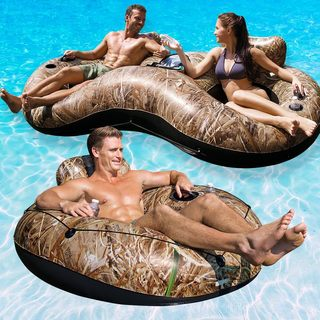 Bestway Realtree Lake Runner Combo Pack for Swimming Pools or Rivers