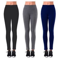 Ladies Plain Yoga Leggings