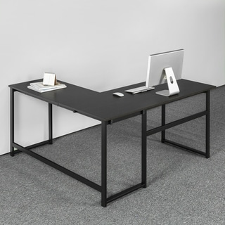 Priage by Zinus Urban L shaped Desk Large