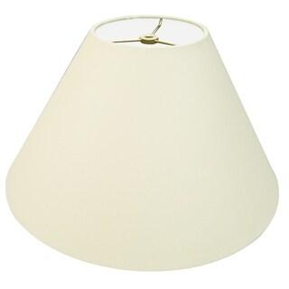 Royal Designs Coolie Empire Hardback Lamp Shade, Eggshell, 7 x 20 x 12