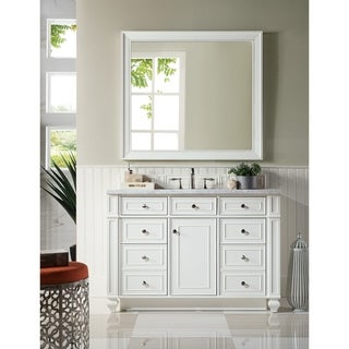 "Bristol 48"" Single Vanity, Cottage White"