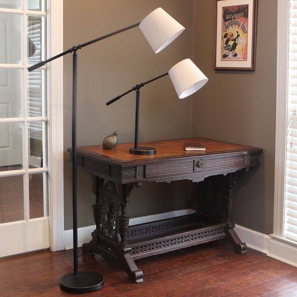 Connor Adjustable Arm Table Lamp