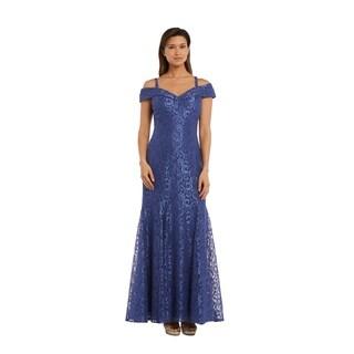 RM Richards 2047 Periwinkle 1 Piece Dress