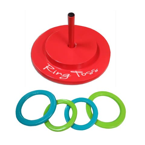 Robelle Floating Foam Ring Toss Game for Swimming Pools