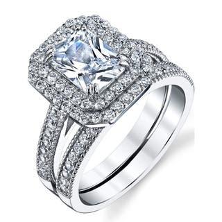 Emerald Bridal Sets - Wedding Ring Sets For Less | Overstock.com