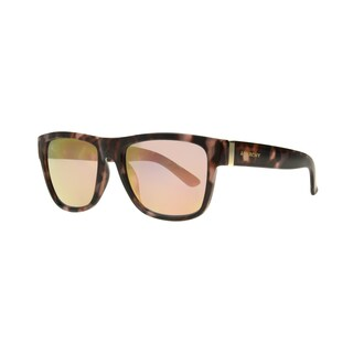 Anarchy Omen Pink Demi Frame with Pink Mirror Lens Sunglasses