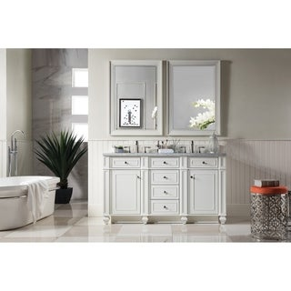 "Bristol 60"" Double Vanity, Cottage White"