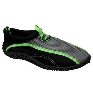 Boy's Aquasock Slip On Black/Volt