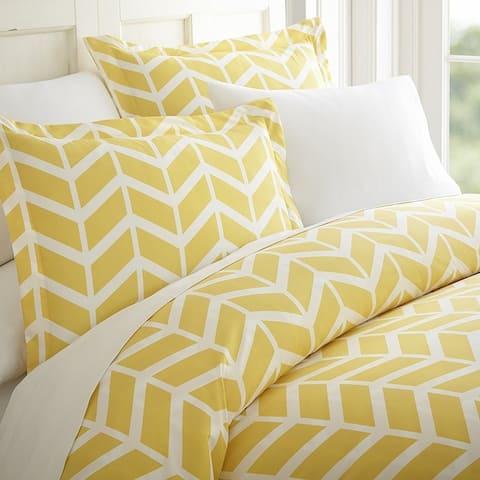 Elegant Comfort Luxury Silky Soft Arrow Pattern Duvet Cover Set