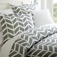 Elegant Comfort Luxury Silky Soft  Arrow Pattern Duvet Cover Set
