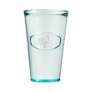 Rooster Hiball Drinking Glass, Set of 6, 16 oz
