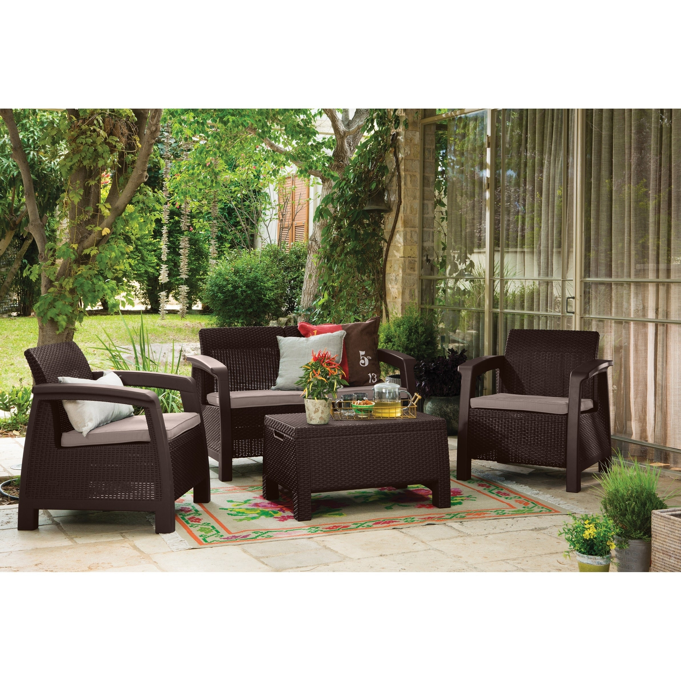 +134 Outdoor Patio Furniture Sets With Fire Pit | Outdoorhom