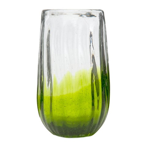 Rosa Hiball Glass Lime, Set of 6, 20 oz