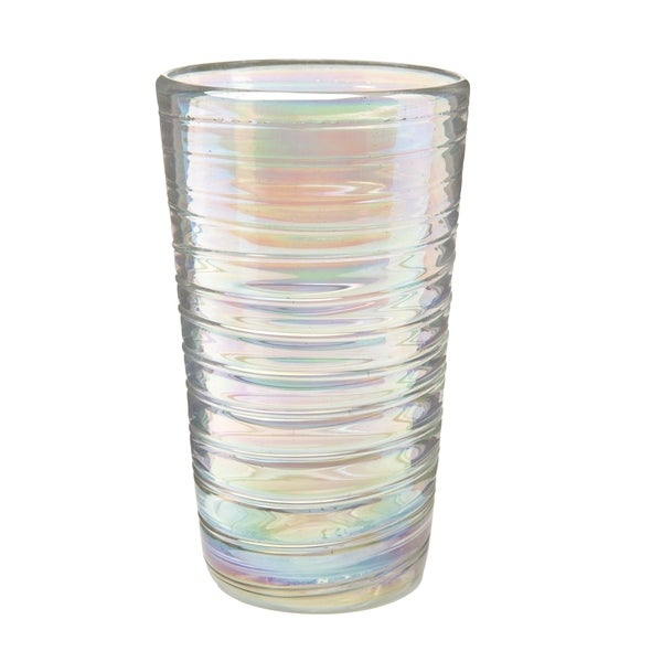 3522d6f14cf Shop Perla Luster Hiball Glass, Set of 6, 16 oz - Free Shipping Today -  Overstock - 21133779