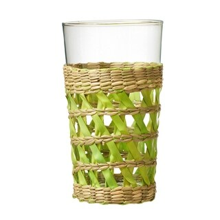 La Bamba Hiball Drinking Glass, Green, Set of 4, 17 oz