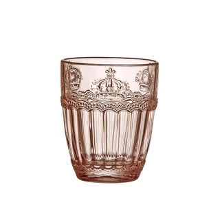 Victoria Crown Double Old Fashioned, Rose Quartz, Set of 6, 12 oz