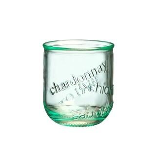 Vino Stemless Glass, Set of 4, 12 oz