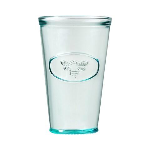Bee Hiball Drinking Glass, Set of 6, 16 oz
