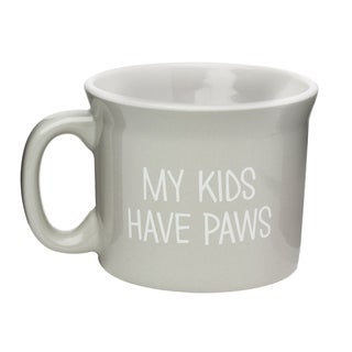 My Kids Have Paws Ceramic Coffe Mug, 20 oz