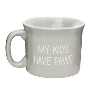 My Kids Have Paws Ceramic Coffe Mug, 20 oz