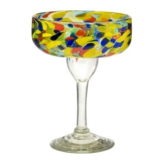 Carnaval Margarita Glass, Set of 6, 14 oz