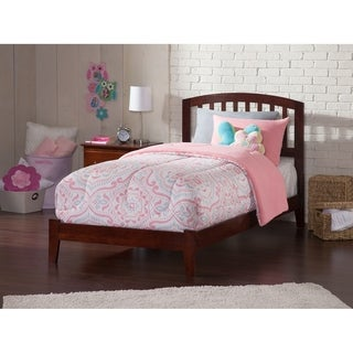 Richmond Twin Traditional Bed in Walnut