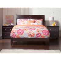 Atlantic Furniture Portland Espresso Wood Full Traditional Bed