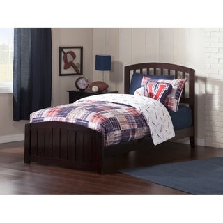 Richmond Espresso Twin XL Traditional Bed with Matching Foot Board