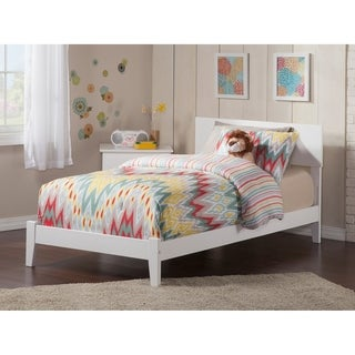 Atlantic Furniture Orlando White Twin XL Traditional Bed
