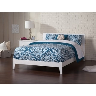 Atlantic Furniture Orlando White Full Traditional Bed